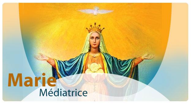 Neuvaine en l'honneur de Notre-Dame, Marie, Médiatrice de toutes les grâces et de saint Louis-Marie Grignion de Montfort. Primary-original