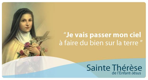 """***  """"   Aujourd'hui c'est la Fête de Ste Thérèse de Lisieux  """" *** Primary-original"""